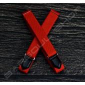 日式伸縮皮飾袖環(亮紅 Sleeve garters(D18)