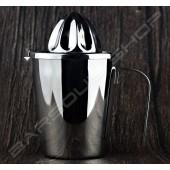 杯型不銹鋼壓汁器 Cup steel squeeze