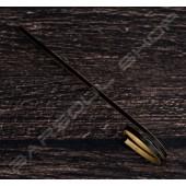 圓圈型裝飾物插 黑(100mm)約100支 Round cocktail stick