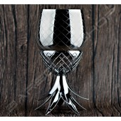 鍍銅鳳梨造型杯(銀色)850ml Plating pineapple tiki cup(silver)