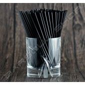 137mm黑色耐火細吸管 Black cocktail straws