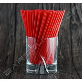 137mm紅色耐火細吸管 Red cocktail straws