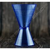 塑料刻度量酒器(藍)60/90ml Plastic Jigger(blue)