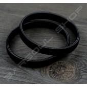 彈性金屬袖環組(黑色) Resilient metal sleeve garters(Black)