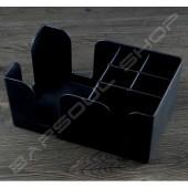 多功能塑料紙巾吸管盒 Plastic tissue straw box