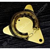 三角濾冰器(鍍鈦金) Triangle strainer(gold)