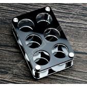 方款6孔SHOT架(單層)A  (瑕疵品售出恕不退換貨)  NG 6 holes SHOT
